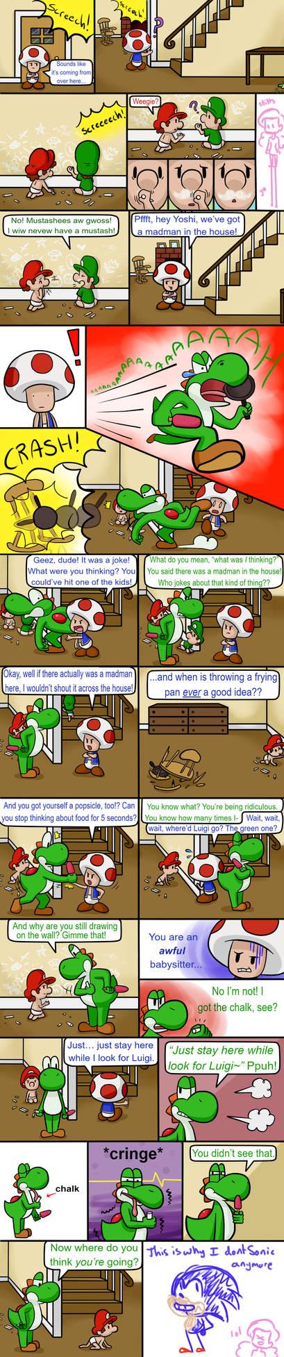 Babysittin' Page 9