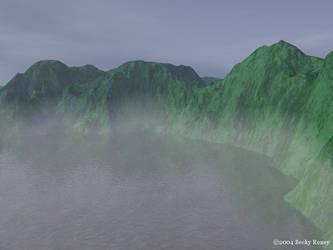 Curved Mist by Veyska
