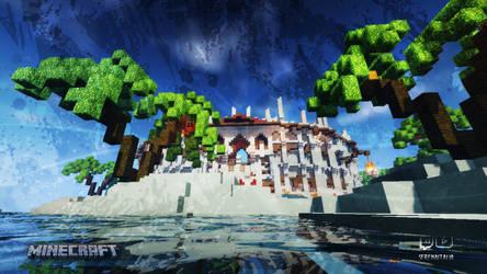 Minecraft Arena Wallpaper