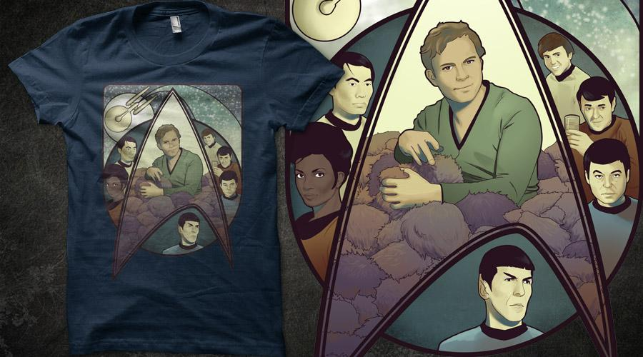 T-SHIRT DESIGN : HELP ME ON QWERTEE by Elnawen