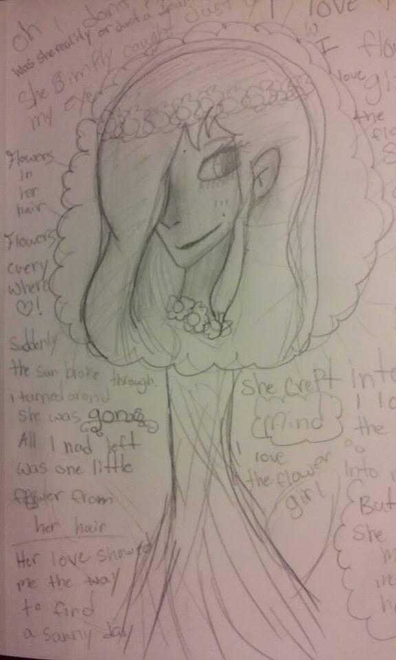 I love the flower girl ~ by KittyFluffles