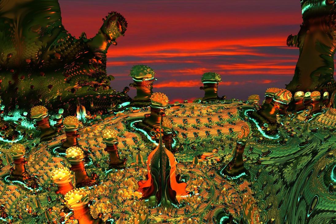 Landscape Alien 2 by heyday93