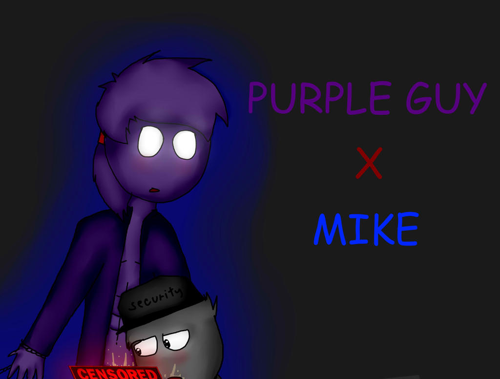 Purple Guy X Mike (FnaF) By VinieCz On DeviantArt
