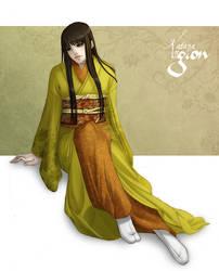 Commission - Ashina Yoshimi by Lowenael