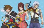 Kingdom Hearts Trio