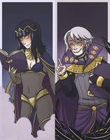 Dark Mages by midgaardian