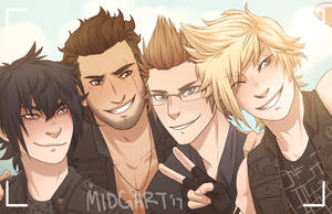 FFXV - Brothers