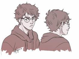 Harry -- Short Hair by midgaardian