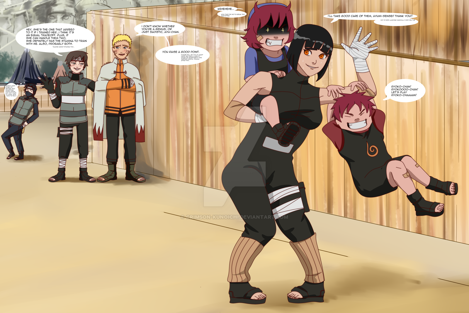 TUK Naruto - Taming the Demon...s by Crimson-Kunoichi