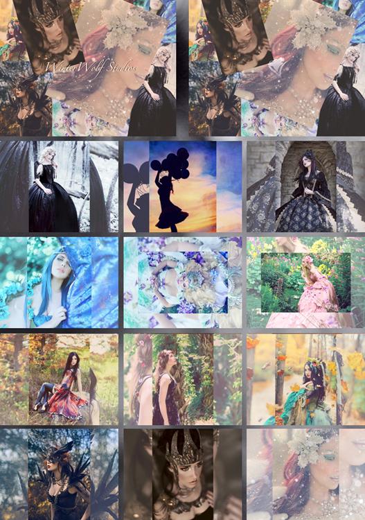 2015 WinterWolf Studios Calendar by girltripped