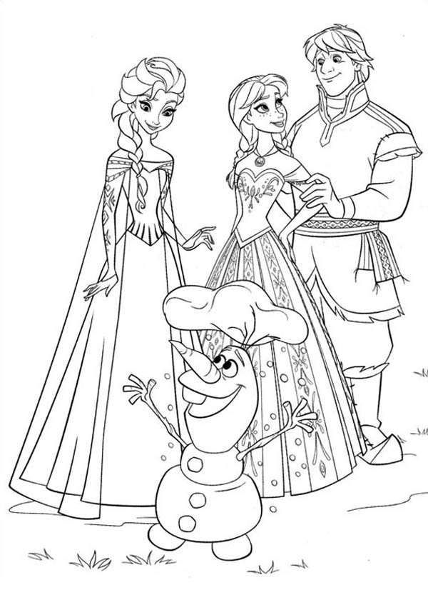 Anna Kristoff Elsa And Olaf By Tilly By Thatcrazylucywilde
