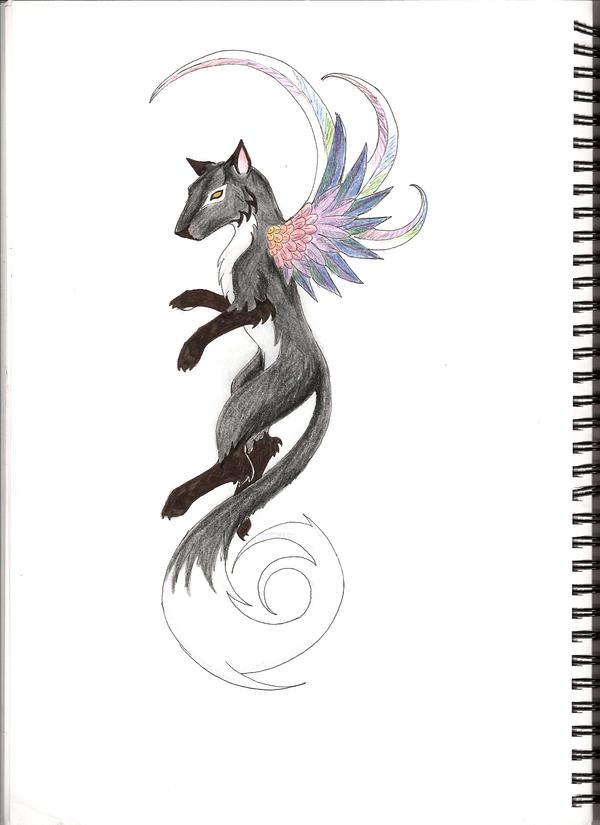 fox tattoo by sinister scribe on deviantart. Black Bedroom Furniture Sets. Home Design Ideas