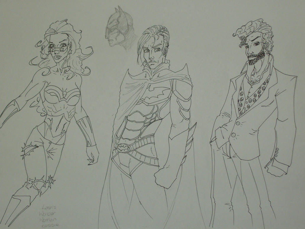 character sheet 1 sketches by sinister