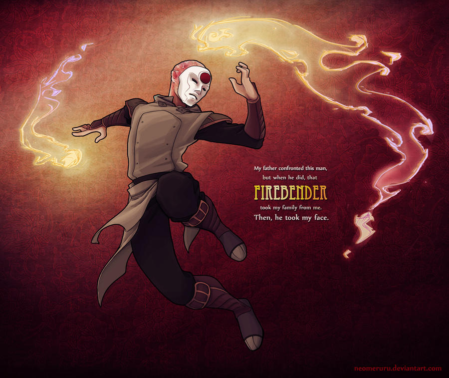 Firebending Amon by neomeruru