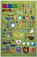 Zelda Collage by neomeruru