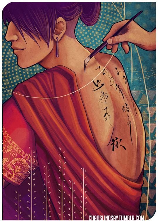 The Scribe by neomeruru