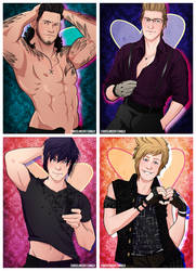 Chocobro Pin-Up Valentines