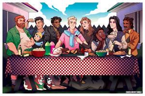 The Last BBQ by neomeruru