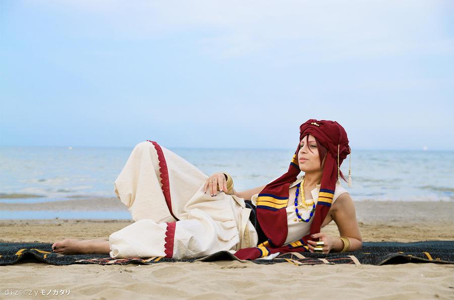 Kiss me, sun -Arabian!Rin- by FreakySpikyHead