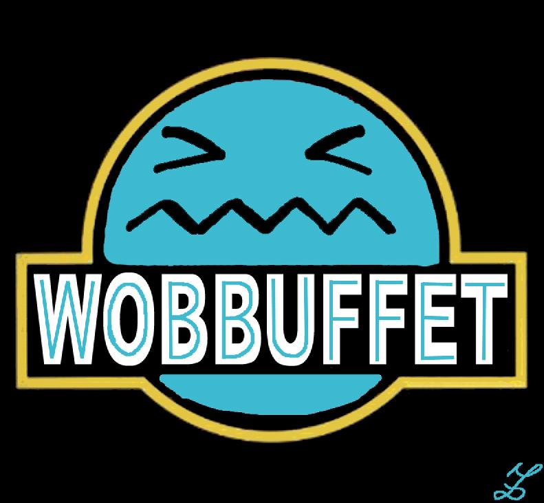 wobbuffet jurassic by Missa91