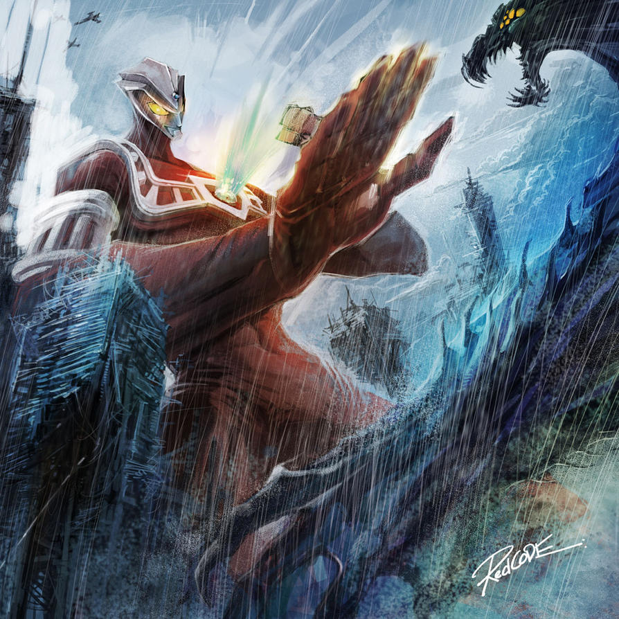ultraman astra by redcode77