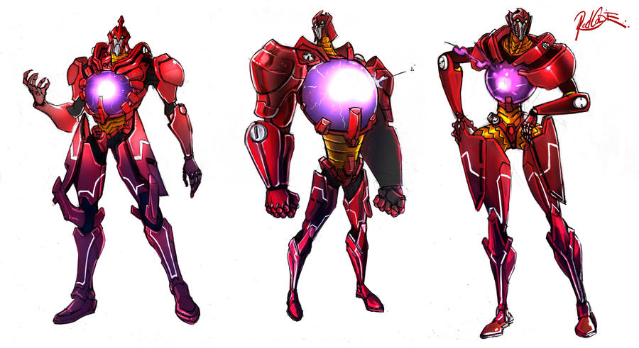 Robot Character Design by redcode77