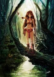 Tarzan Girl by redcode77