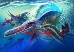 Triassic Period art