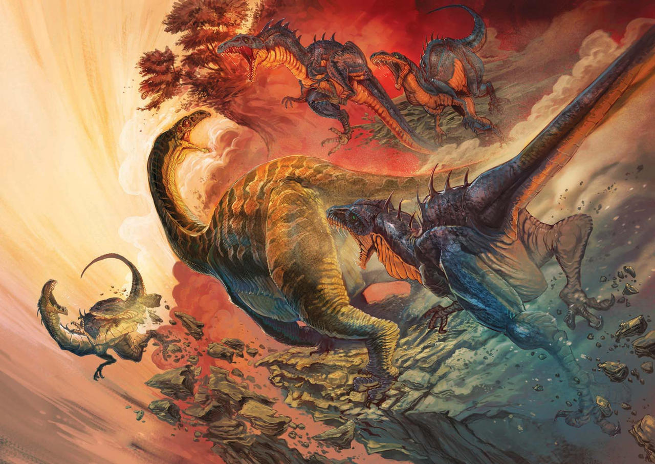 mass extinction in ordivician permian triassic and cretaceous eras Extinction - permian extinction - the worst mass extinction event was the permian extinction, which occurred about 266 million to 251 million years ago the event entailed a dramatic loss of organisms.