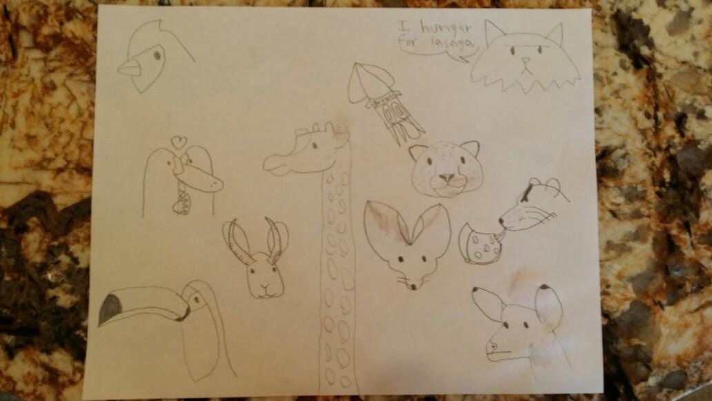 Sketches 6-23-17 by KosherDelhi