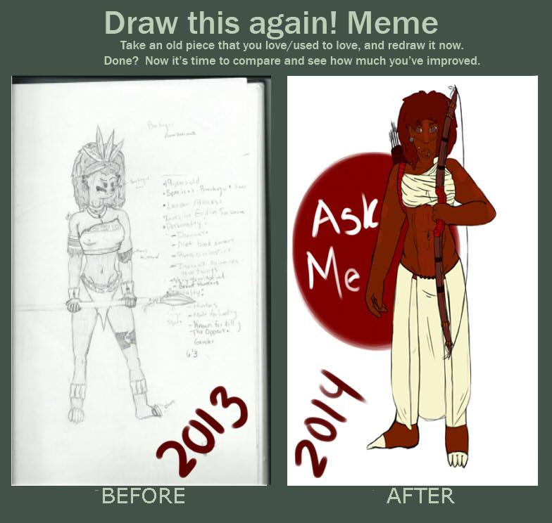 Draw again! AJ by DarkMagicTraffic