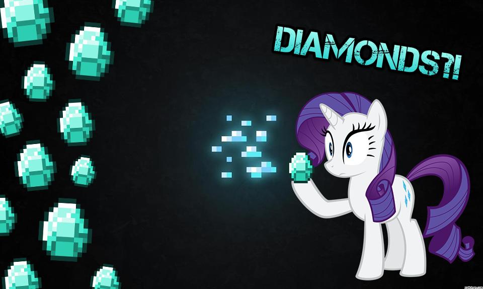 Cool Minecraft Diamond Wallpaper