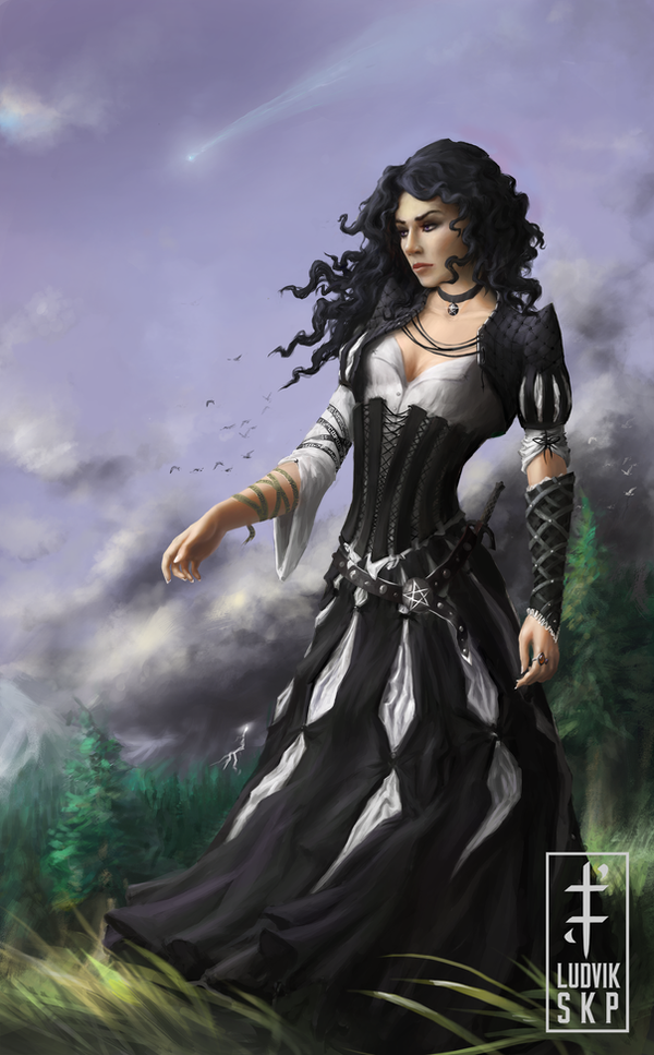 Yennefer of Vengerberg by LudvikSKP