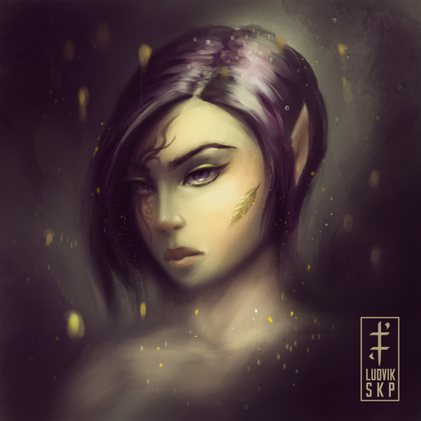 Gold Leaf by LudvikSKP