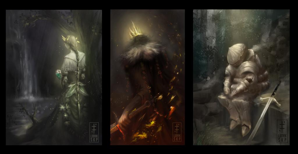 Soul Of Cinder Fan Art: Dark Souls By LudvikSKP On DeviantArt