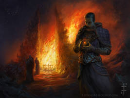 Firekeeper by LudvikSKP