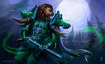 World of Warcraft: Worgen Hunter