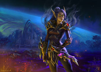 World of Warcraft: Senneria by LudvikSKP