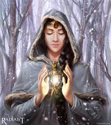 Aurelia, Healing Prayer