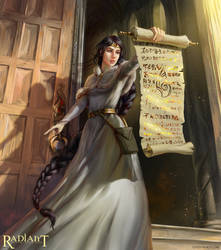Aurelia, Keeper of the Sacred Texts
