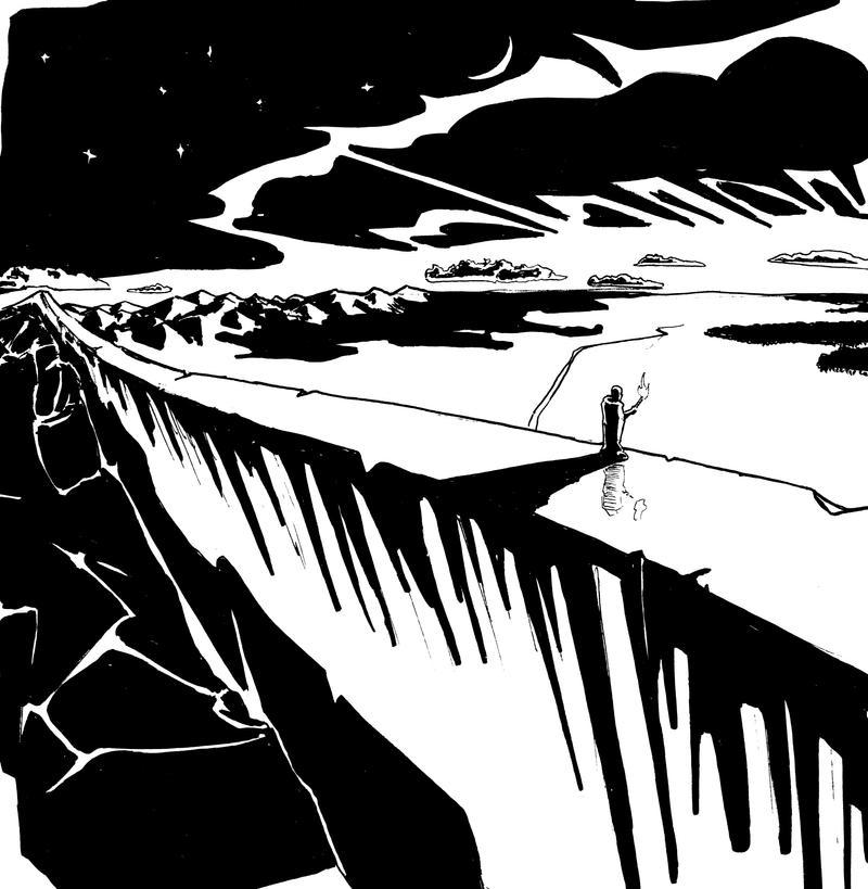 The Wall by Randall-Loom