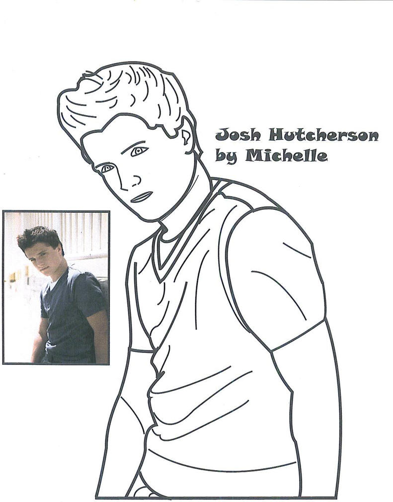 josh hutcherson by punkmichphantom