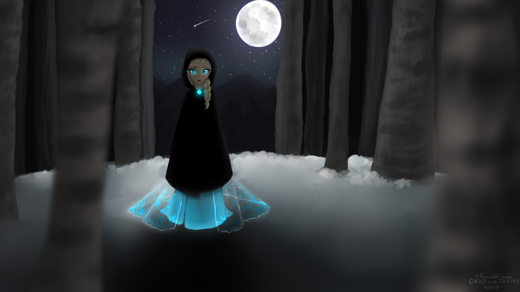 [frozen] night vagrant by GR4CE-and-T0FFIE