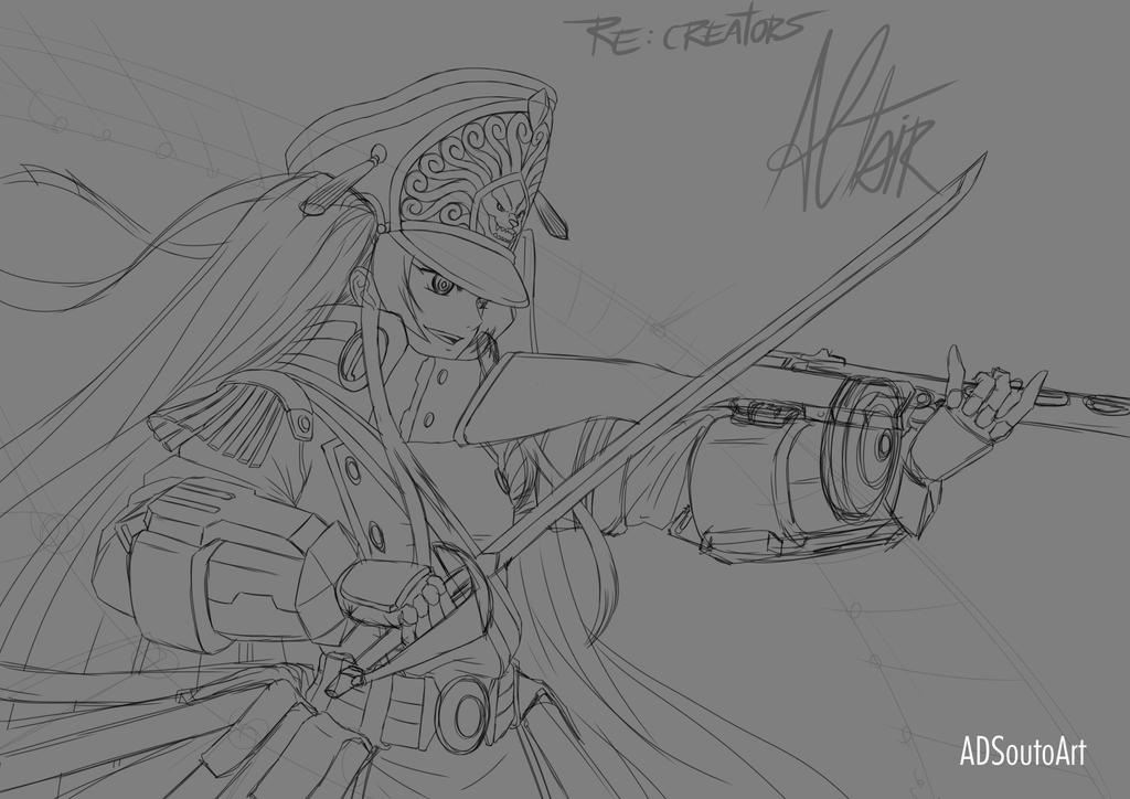Altair sketch 2 by ADSouto