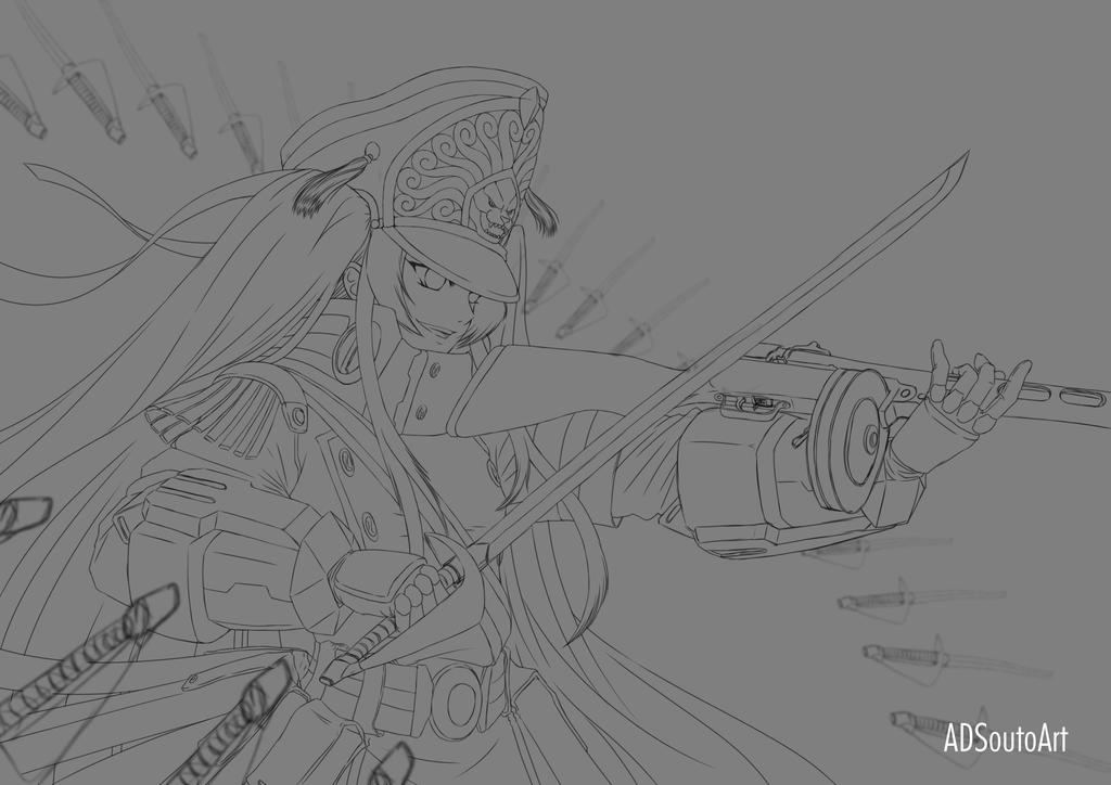 Altair clean sketch by ADSouto