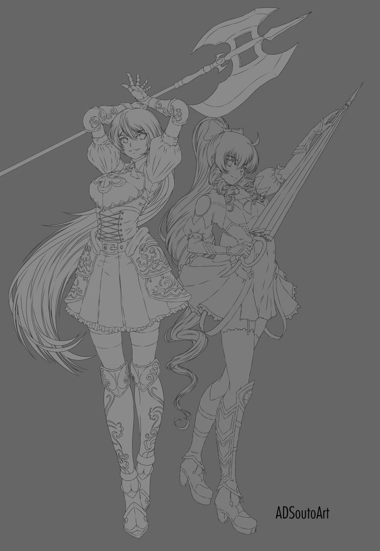 Cordelia and Maho by ADSouto