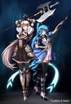 Cordelia and Maho