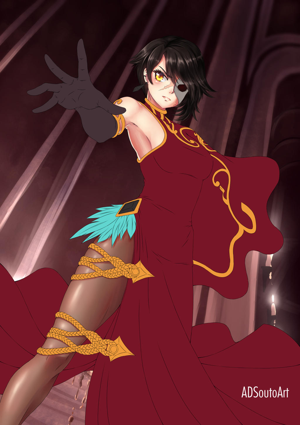 WIP Cinder Fall by ADSouto