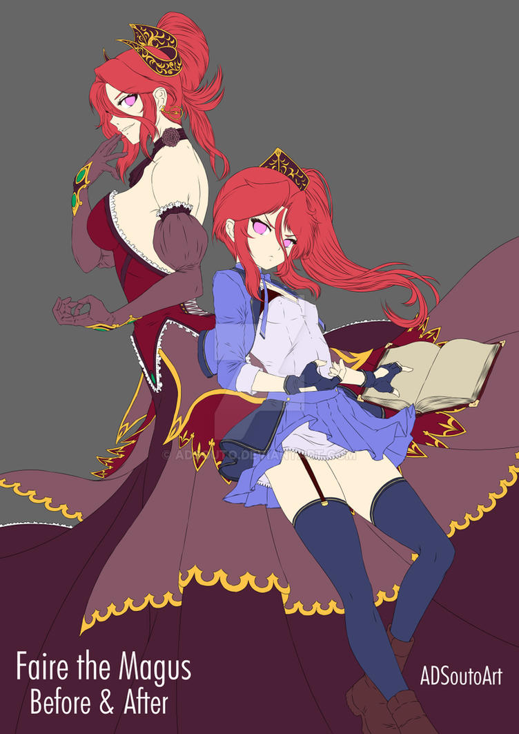 Faire the Magus WIP by ADSouto