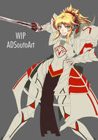 WIP Mordred Pendragon Armor Ver. by ADSouto